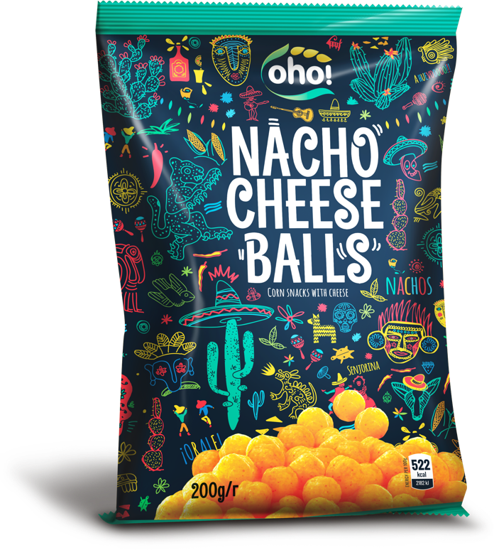 Nacho cheese balls
