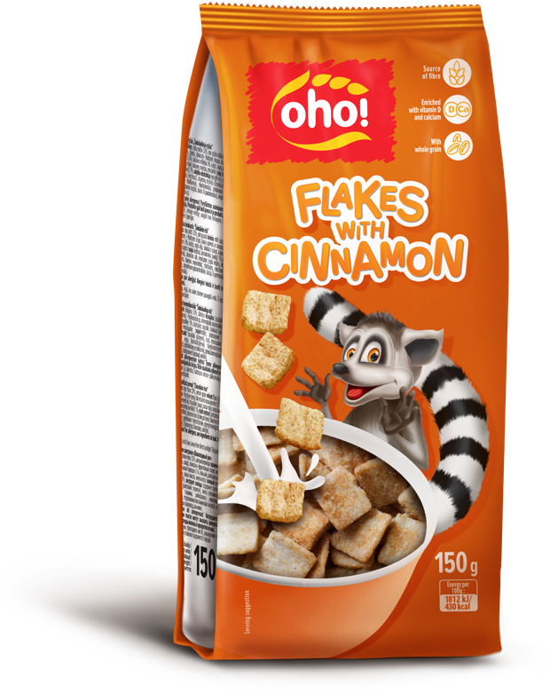 Flakes with cinnamon