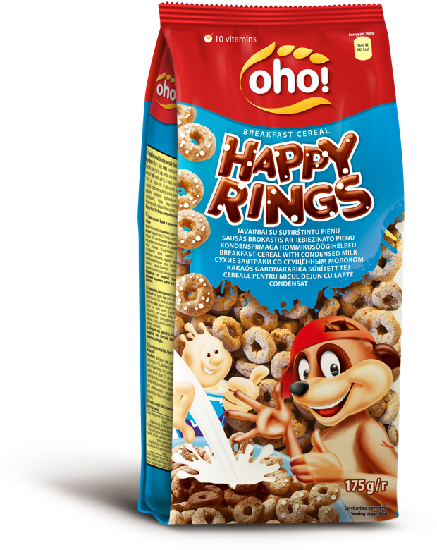 """HAPPY RINGS""  with condensed milk"