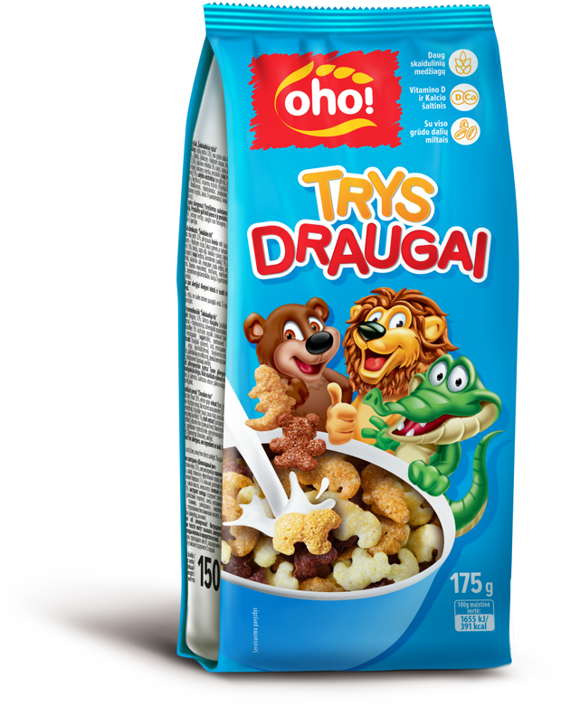 "Breakfast cereal ""Three friends"""