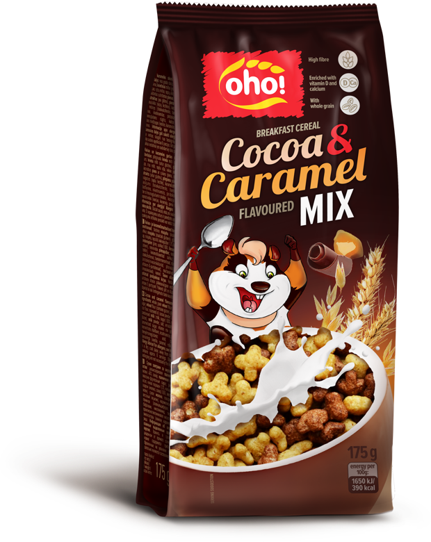 Breakfast cereal Cocoa & Caramel mix